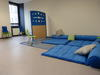 Salle de psychomotricité de l'hôpital de jour de Nay
